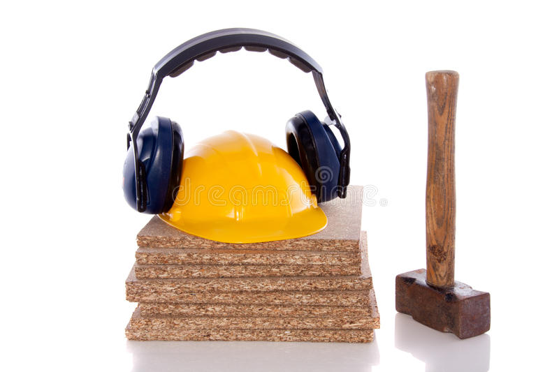 Industrial protection and tools stock photos
