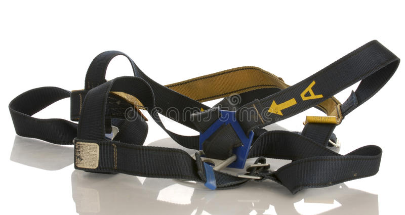 Industrial safety harness royalty free stock photos