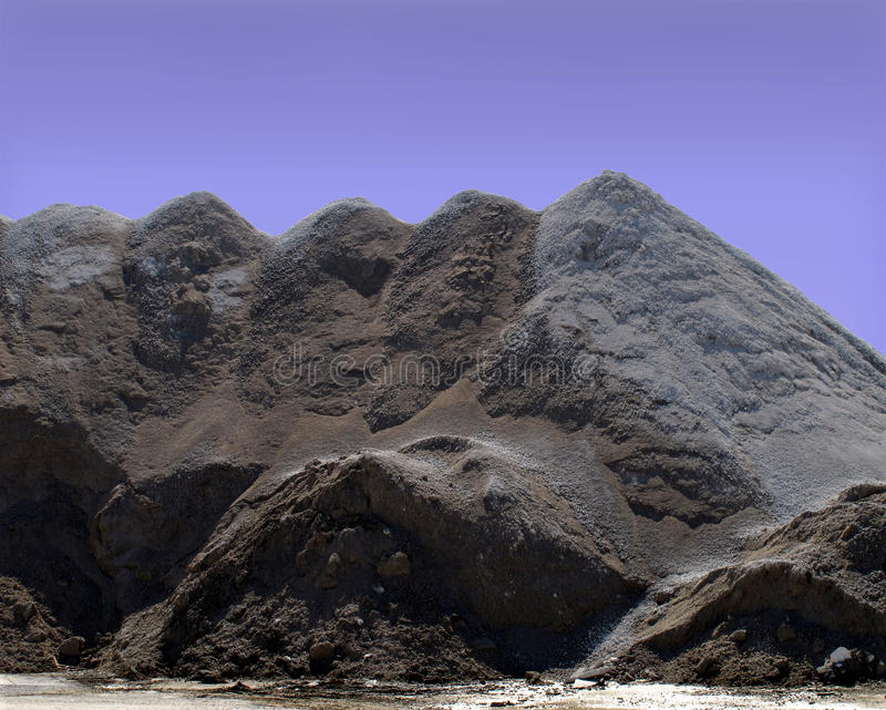 Download Industrial Sand And Gravel Pile Stock Image - Image: 23933311