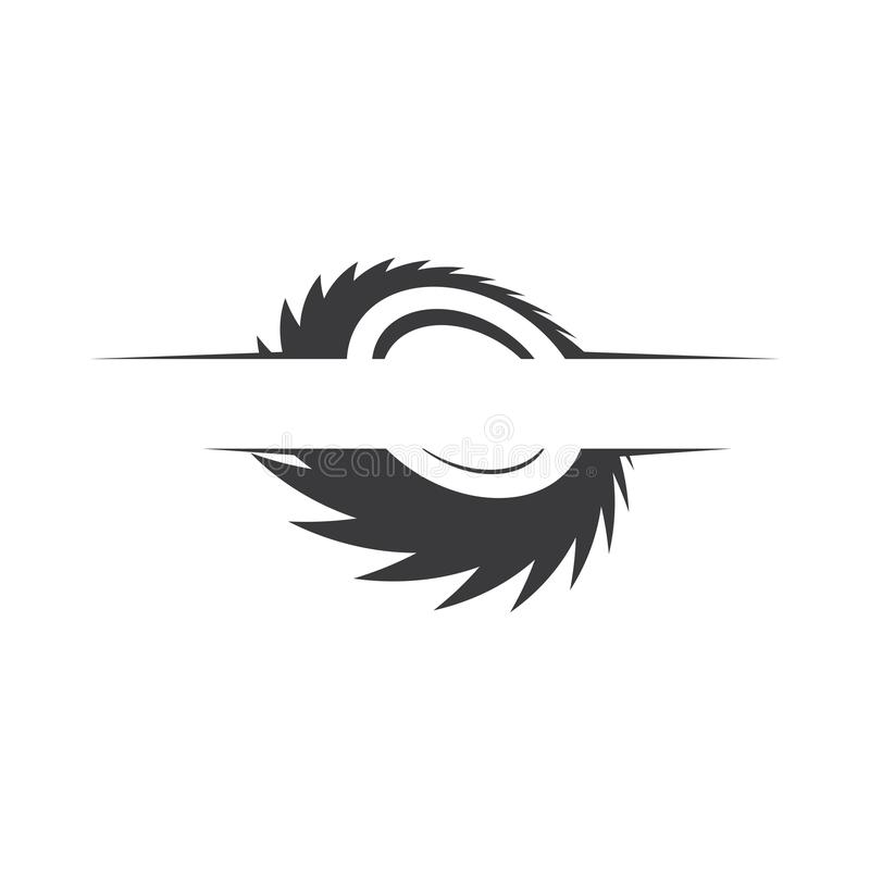 Free Industrial Saw Vector Illustration Icon Royalty Free Stock Photos - 160011708