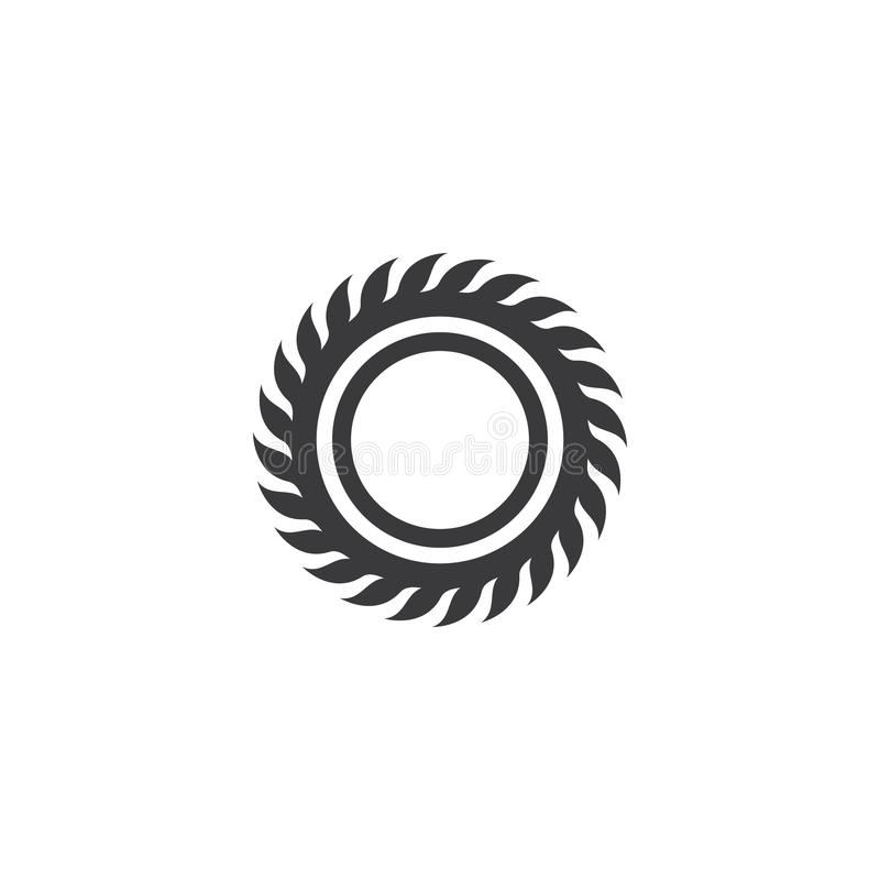 Free Industrial Saw Vector Illustration Icon Royalty Free Stock Photo - 160011915