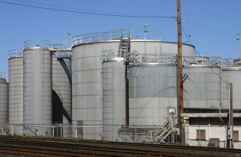 Industrial scene stock images