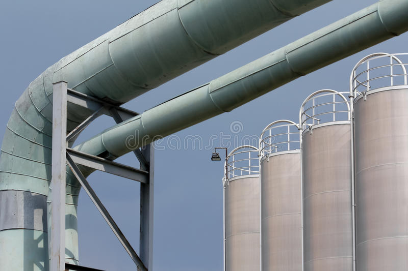 Industrial Scenery Royalty Free Stock Photos