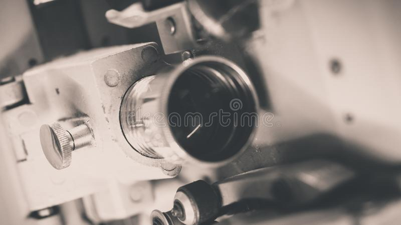 Industrial Science Device In Laboratory. With The New Innovative Manufacturing Technology royalty free stock photos