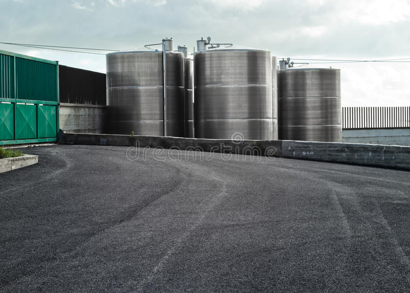 Download Industrial silos stock image. Image of building, business - 36714603