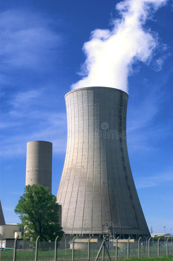 Download Industrial Site In Nuclear Power Stock Image - Image: 20051289