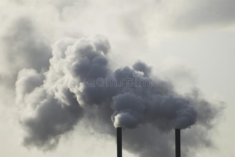 Download Industrial Smoke Stacks stock photo. Image of industrial - 22776866
