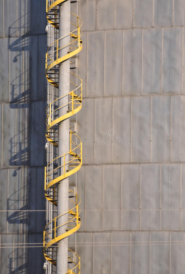 Download Industrial Spiral Staircase Stock Image   Image Of Architecture,  Power: 21749965