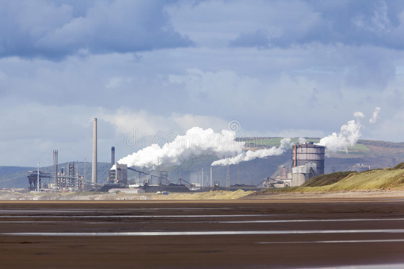 Download Port Talbot Steelworks stock photo. Image of factory - 29899474