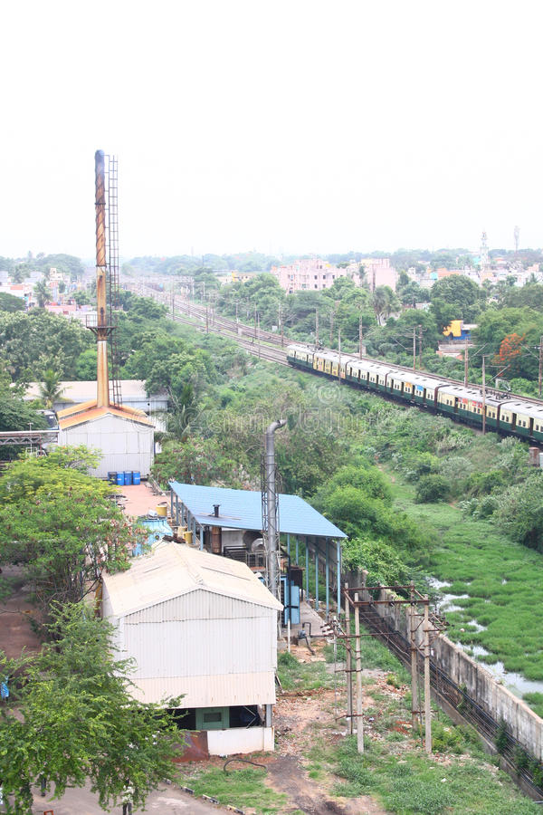 Download Industrial Suburb Of Chennai, Indian City Stock Image - Image: 20332983