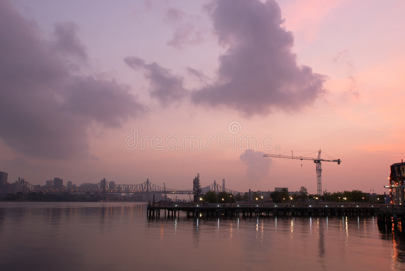 Download Industrial sunrise stock photo. Image of industrial, construction - 185960