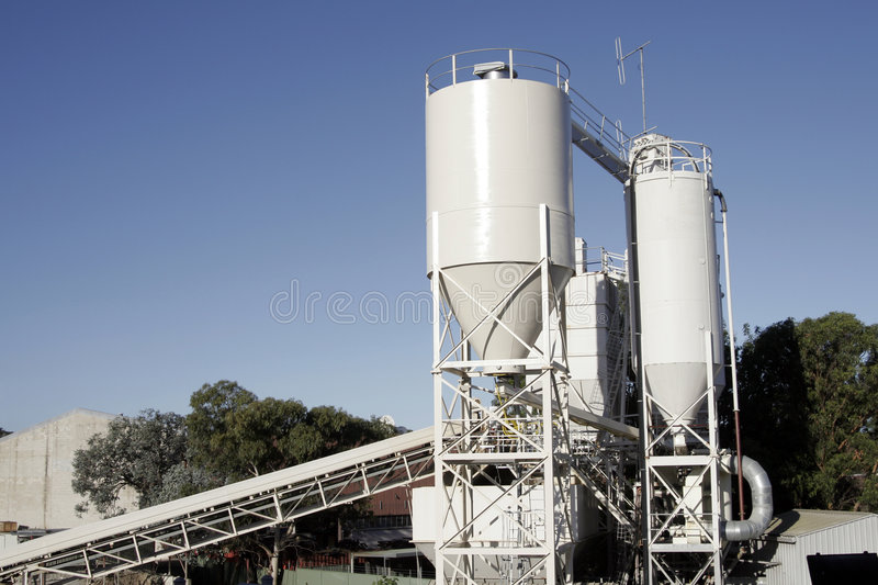 Download Industrial Tanks stock image. Image of tank, blue, chemical - 1959835