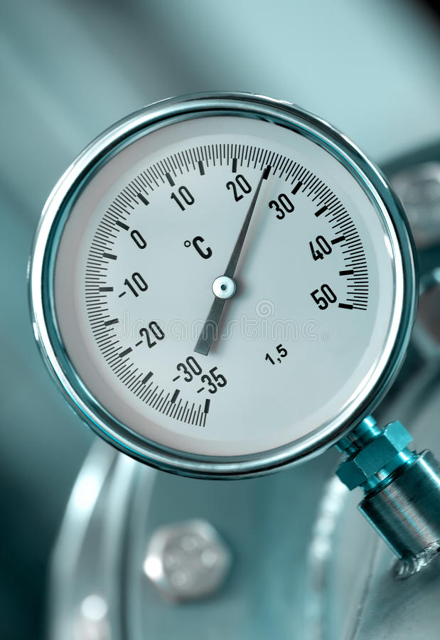 Download Industrial Temperature Meter Stock Photo - Image: 24978466
