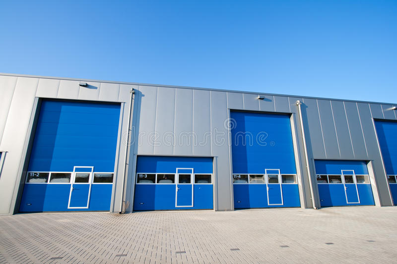 Industrial unit stock image