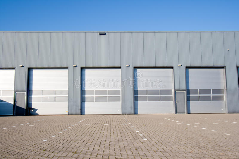 Industrial Unit royalty free stock image