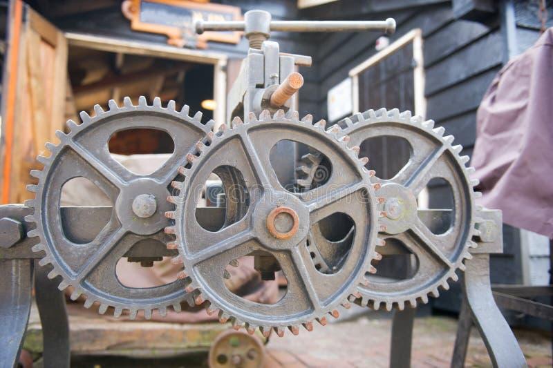 Industrial Wheels Royalty Free Stock Image