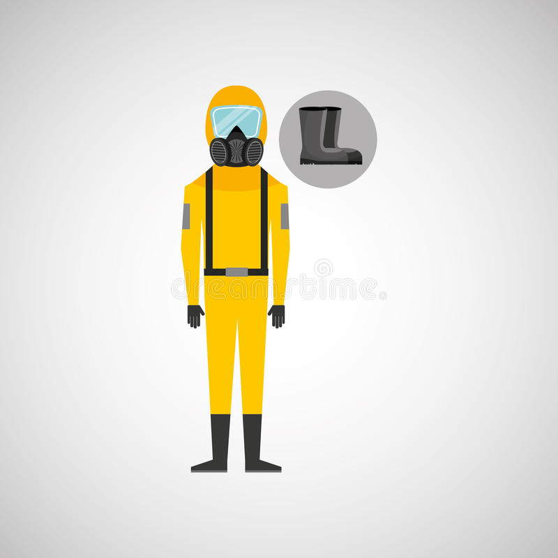Industrial work design. Illustration eps10 graphic royalty free illustration