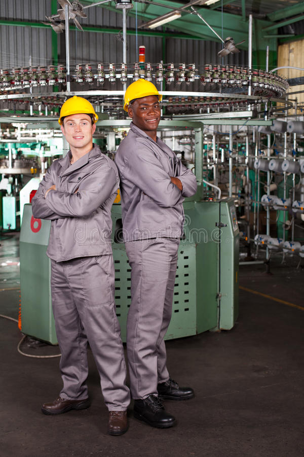 Download Industrial workers stock image. Image of african, happy - 27310873