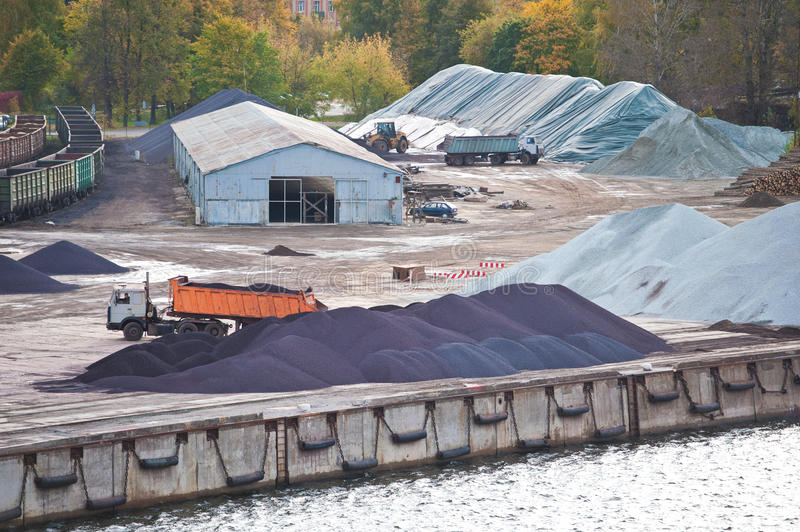 Download Industrial Yard Royalty Free Stock Image - Image: 22660926
