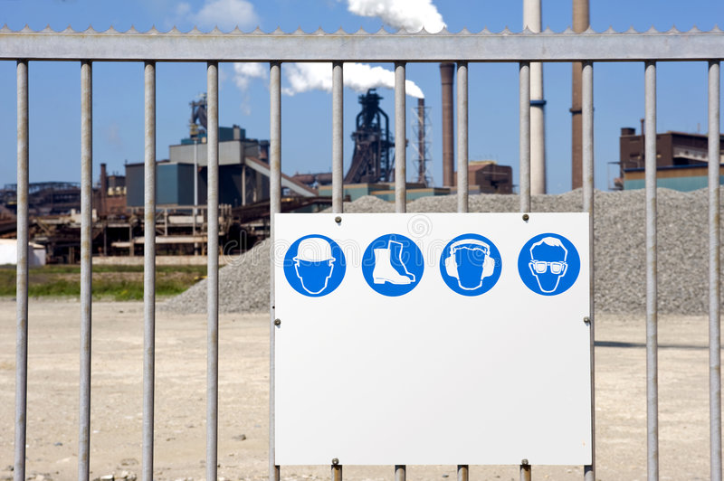 Download Industrial Zone stock image. Image of industrial, message - 5884707