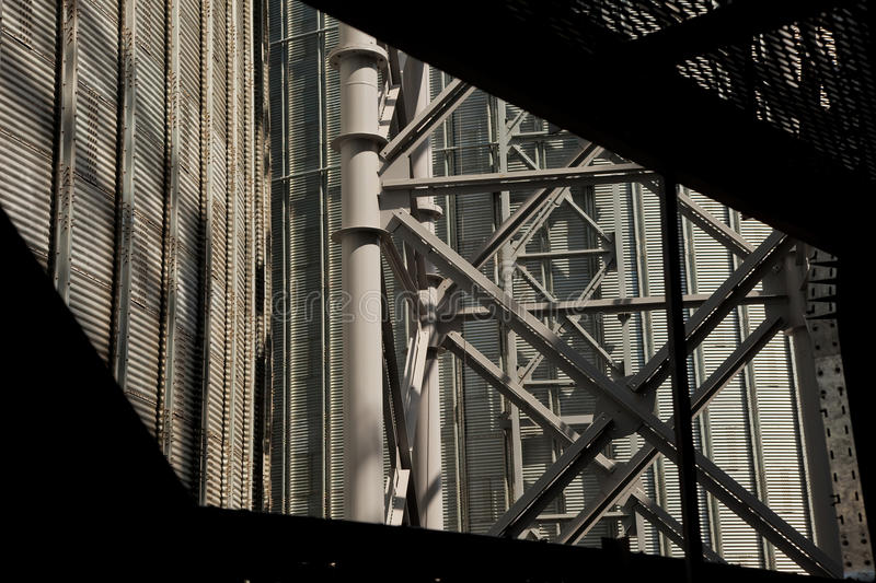 Industrial zone. Conceptual background. Plant or factory royalty free stock images