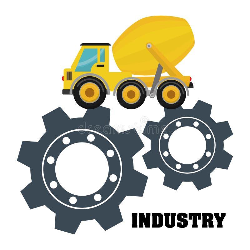 industriale illustrazione vettoriale