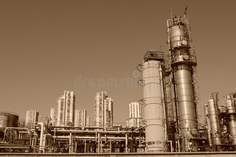 Industriale de Rijeka images stock