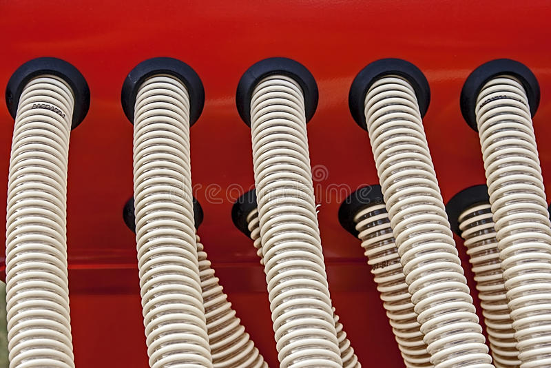 Industriall equipment. Details royalty free stock photo