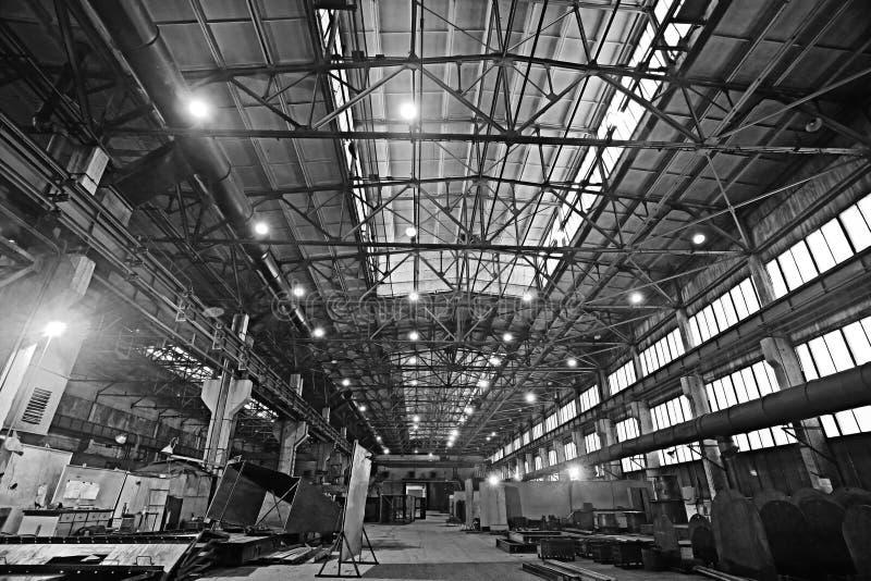 Industrianläggningfabrik royaltyfria bilder