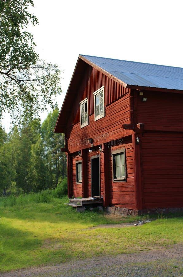 Industrias siderúrgicas de Rosfors en Norrbotten imagenes de archivo