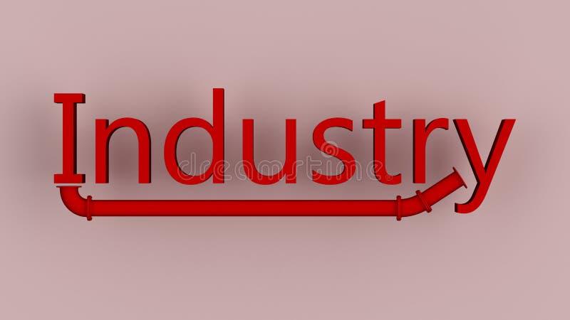 Industrie royalty-vrije illustratie