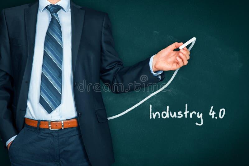 Industrie 4 stock afbeelding