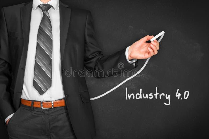 Industrie 4 stock foto