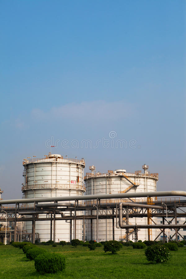 Industrie chimique. images stock