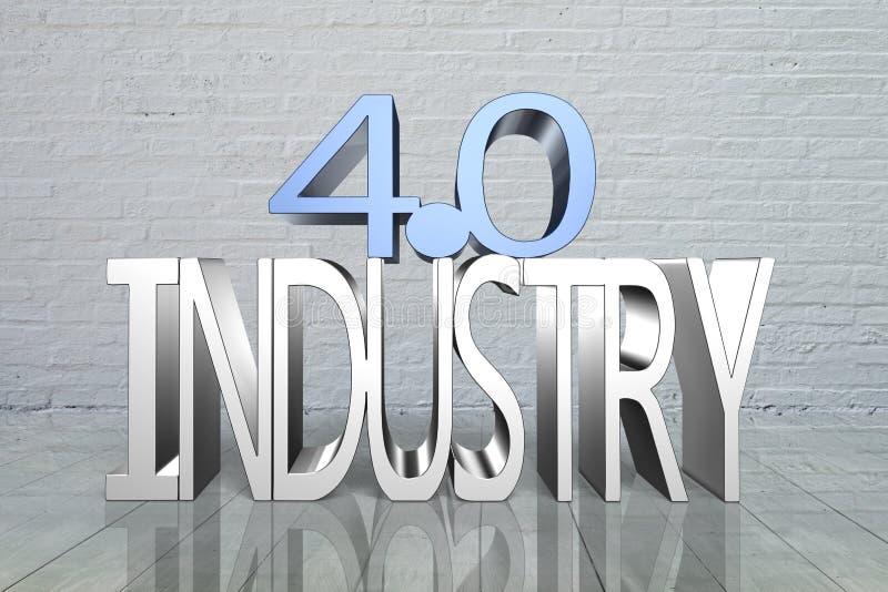Industrie 4 0 Concept vector illustratie