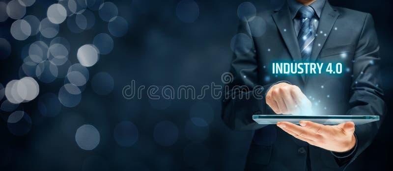 Industrie 4 0 Concept stock afbeeldingen