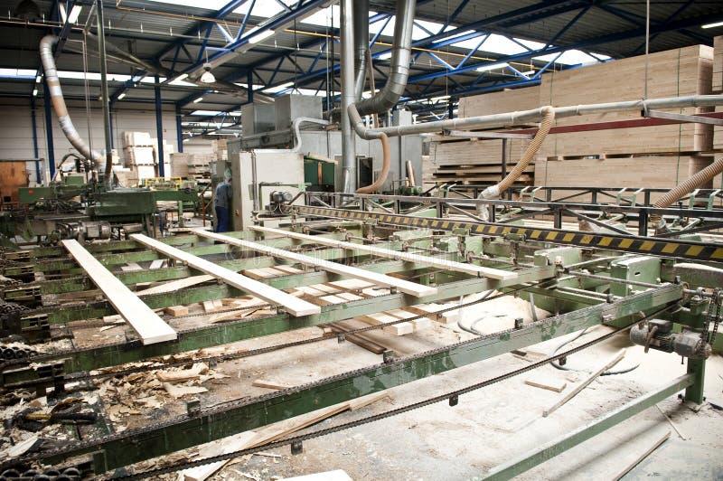 Industrie de bois de charpente image libre de droits