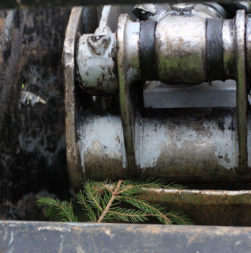 Industrie de bois de construction photo libre de droits