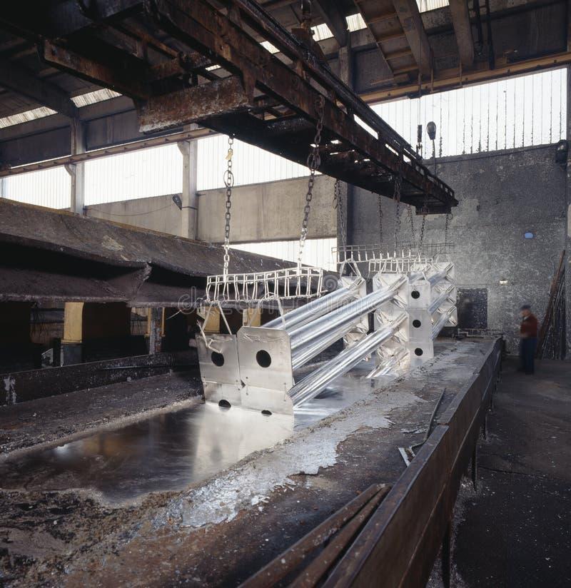 Industrie de galvanisation images libres de droits