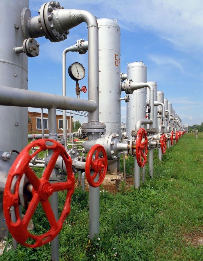 Industrie de gaz et pétrolière photos stock
