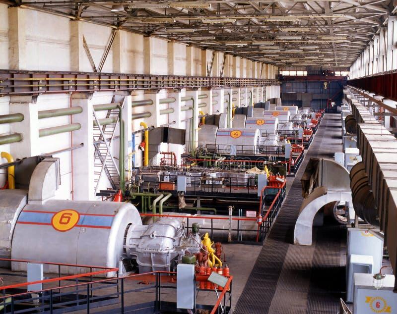 Industrie du gaz photographie stock