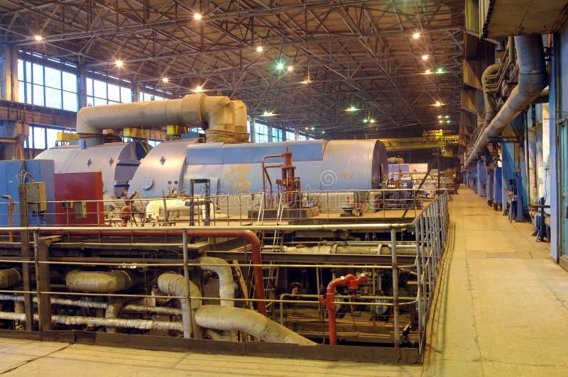 Industrie-Installationsleistung stockfotografie