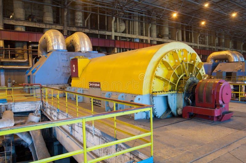 Industrie-Installationsleistung lizenzfreies stockbild