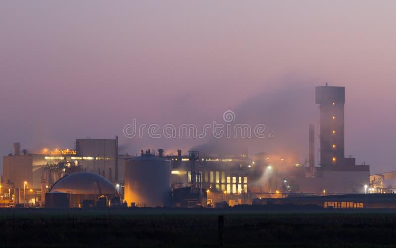 Industrie la nuit photographie stock libre de droits