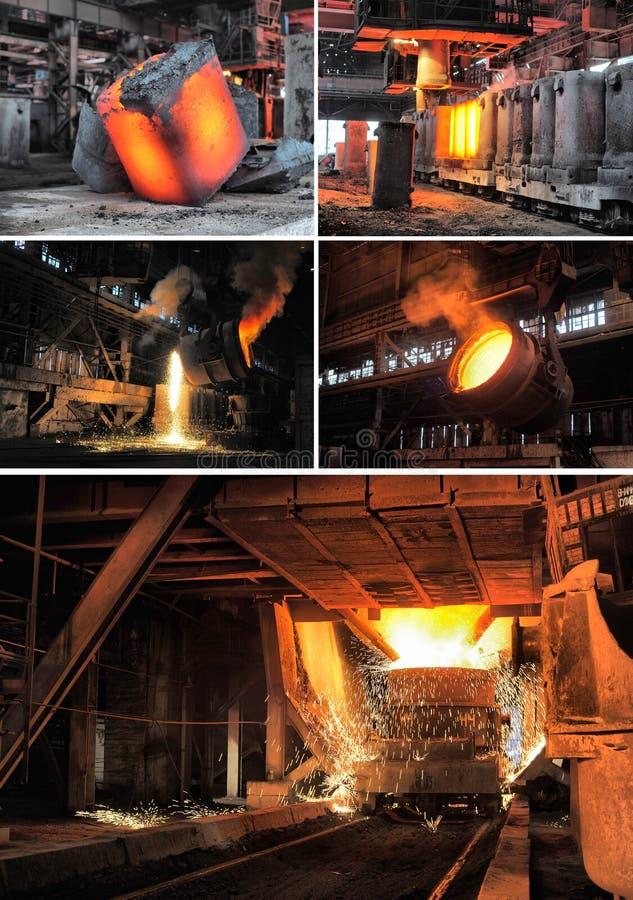 Industrie métallurgique image stock