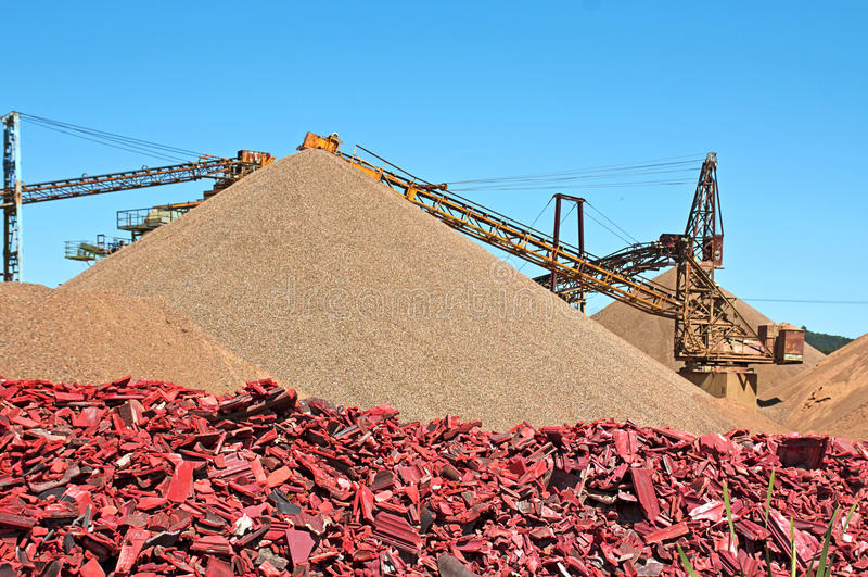Industrie minière photographie stock