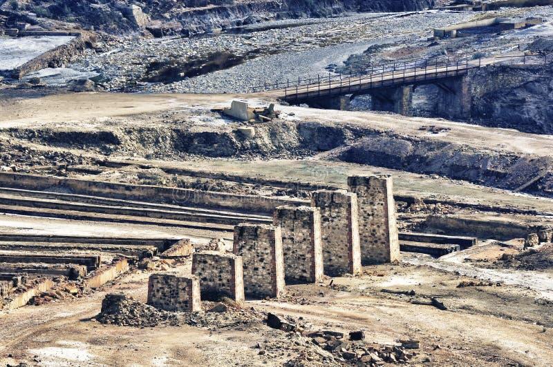 Industrie minière abandonnée photos stock