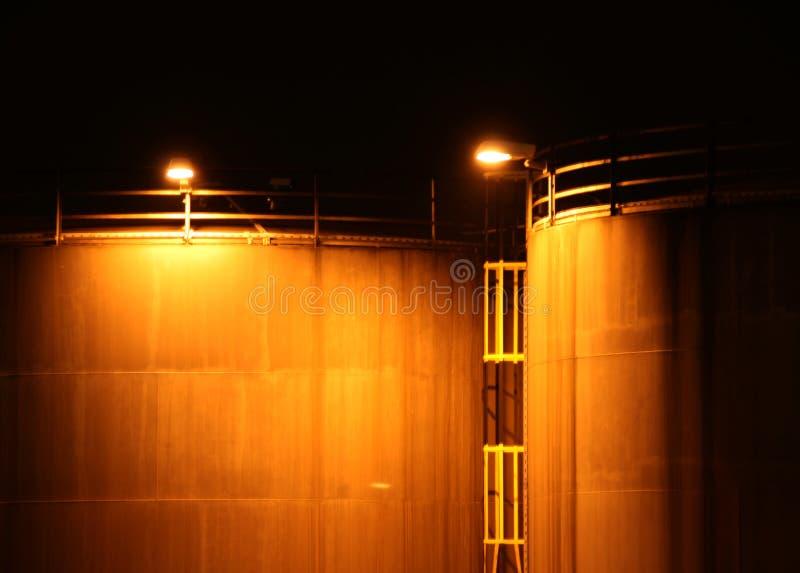 Industrie nachts lizenzfreies stockfoto