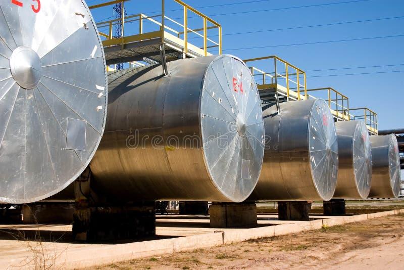 Industrie pétrolière. photo stock