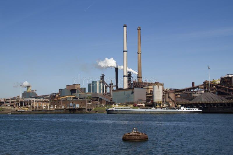 Industrie sidérurgique images libres de droits